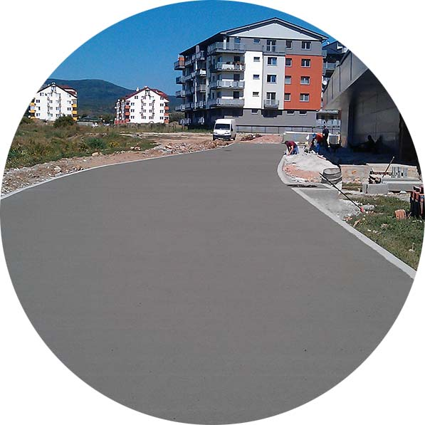 cestne betony a